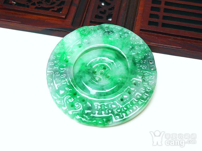 冰润满绿罗盘吊坠图8