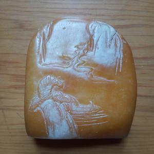 联盟 寿山石雕件