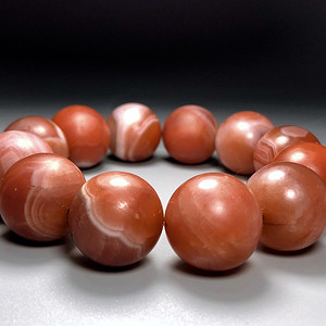收藏级 古珠精品 清代老南工珠一串