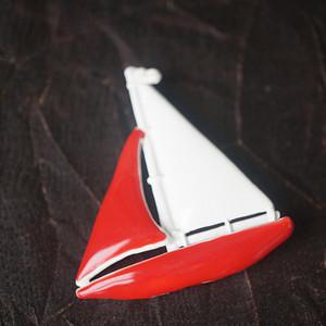 法国帆船艺术别针