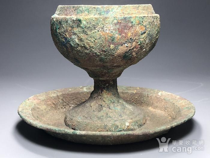 精品 收藏级青铜压轴 汉代青铜博山炉一件图8