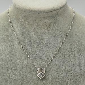 5.9克镶水晶吊坠项链