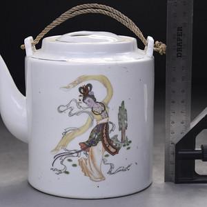 联盟 民国老瓷壶