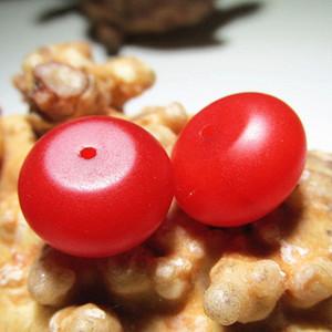 民国时期 早已绝迹的 正宗 骆岭 保山南红 柿子红