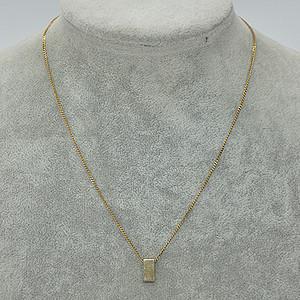 2.8克金属吊坠项链