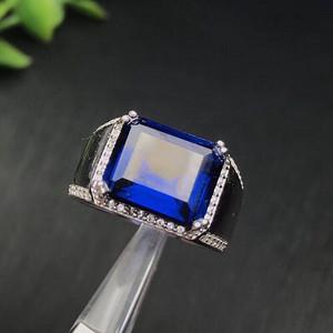 联盟 独家精美蓝宝石戒指