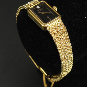 鎏金镶嵌钻石 女款名手表