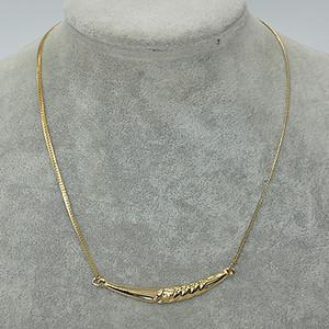 国外回流6.8克金属装饰项链