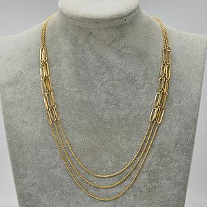 国外回流23.3克金属装饰项链