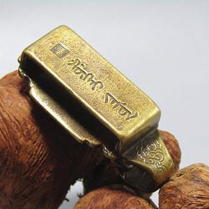 清八旗 老铜打造 带刀钩 手工 打造 包浆厚重