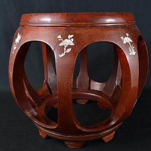 鼓型木凳B