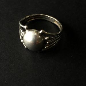 8152欧洲回流老银戒指