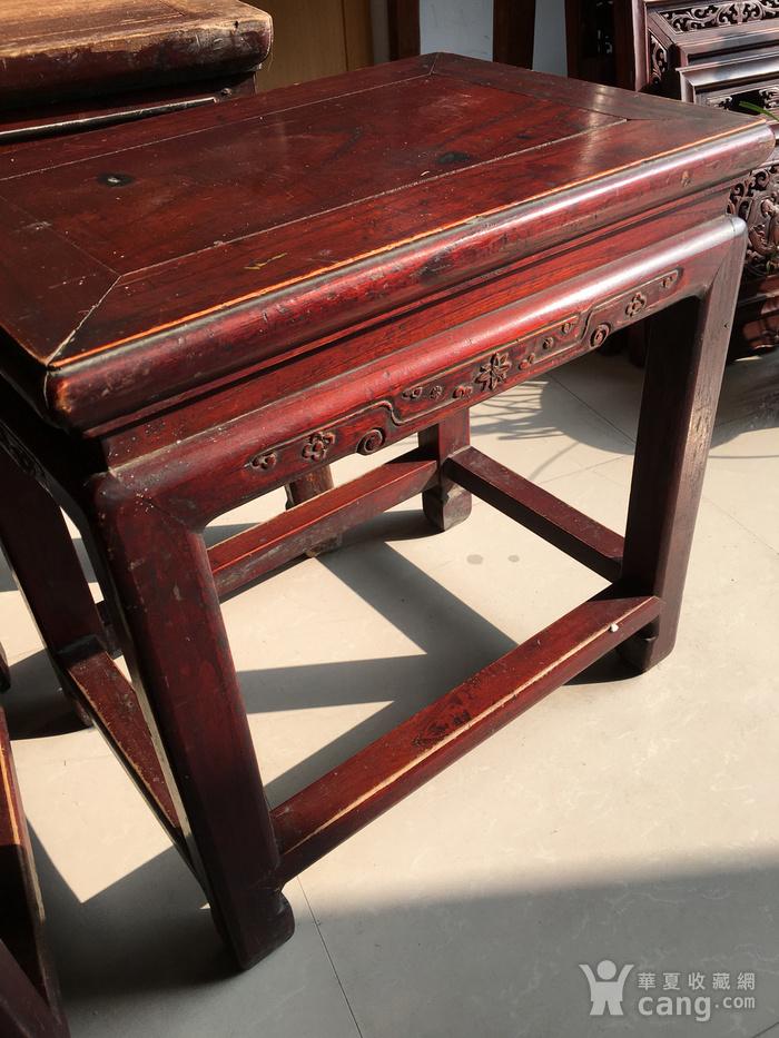 榉木方凳四个一套图4