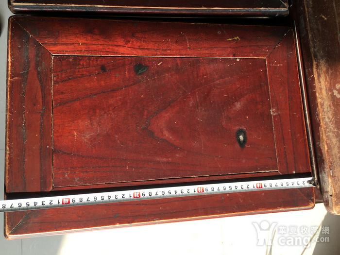 榉木方凳四个一套图8