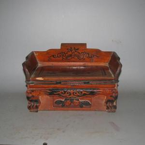造型独特文房盒一个
