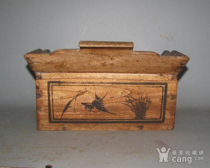 造型独特文房盒一个图6