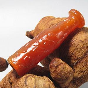 民国红玛瑙 大烟嘴 包浆厚重
