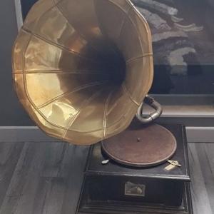 19世纪留声机
