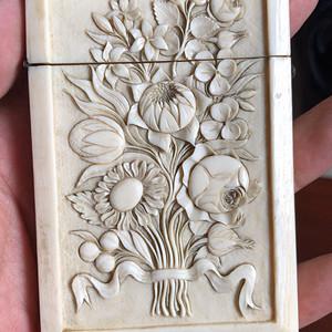 十九世纪法国贵族名片盒