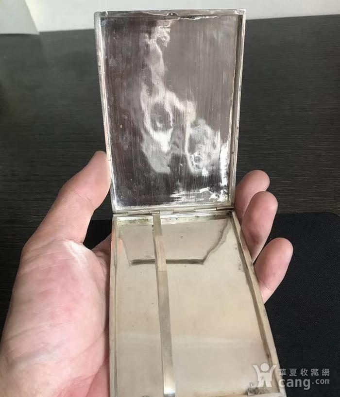 一个纯银龙纹盒子图3