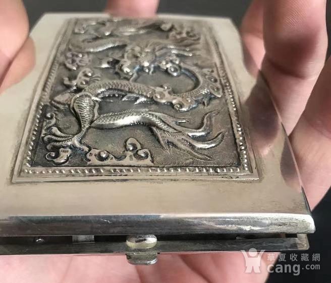 一个纯银龙纹盒子图4