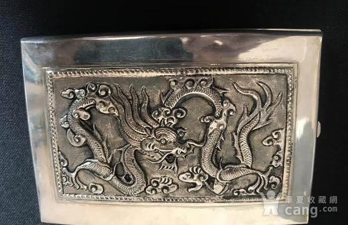一个纯银龙纹盒子图8