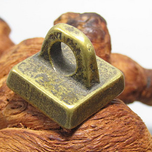 老铜打造  方印 手工篆刻 包浆厚重