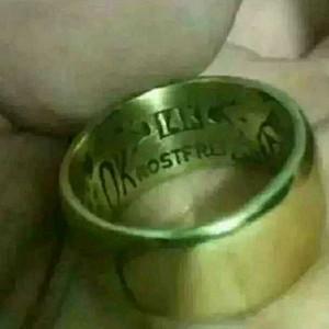 一个德国14k金戒指