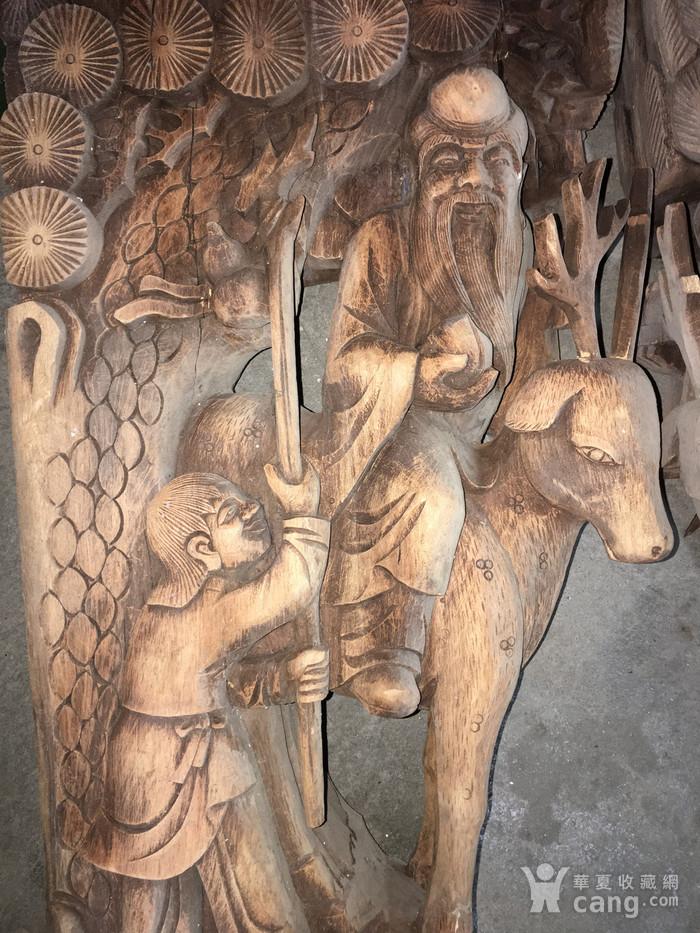 樟木雕大牛腿图2