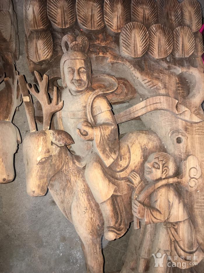 樟木雕大牛腿图3