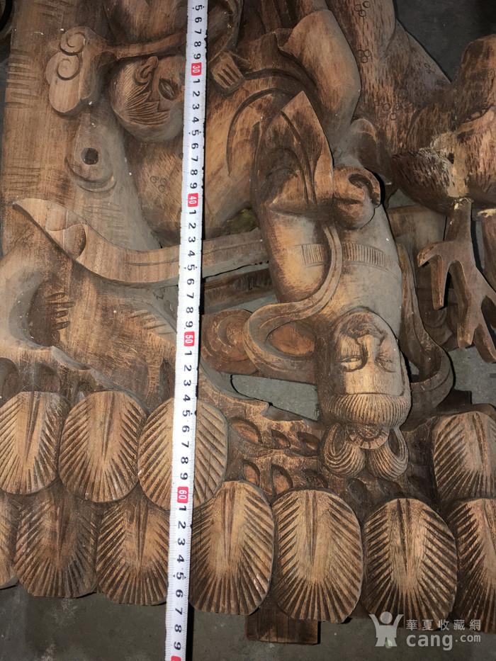 樟木雕大牛腿图5