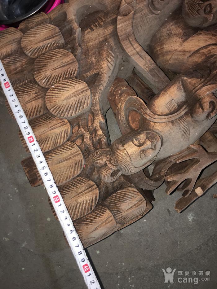 樟木雕大牛腿图6