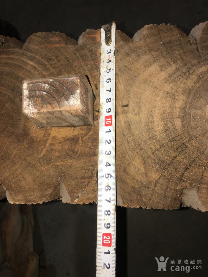 樟木雕大牛腿图7