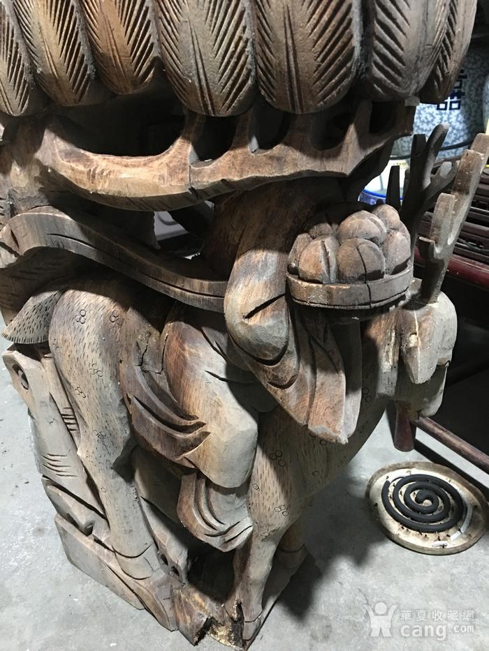 樟木雕大牛腿图10