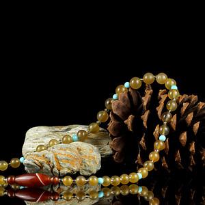 3老玛瑙珠串