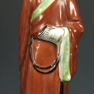 民国 王隆记造四字款 瓷塑大摆件28厘米