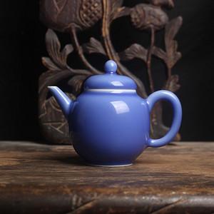 天青釉茶壶