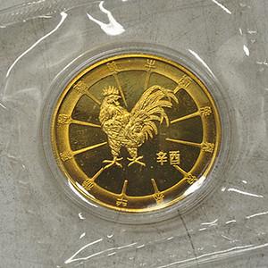 1981辛酉鸡年纪念章