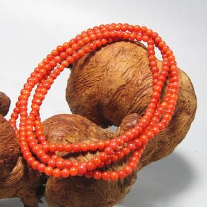 红珊瑚 手串 216粒