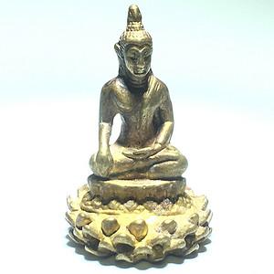 藏传 清代 纯铜 鎏金 释迦牟尼 佛 手工錾刻