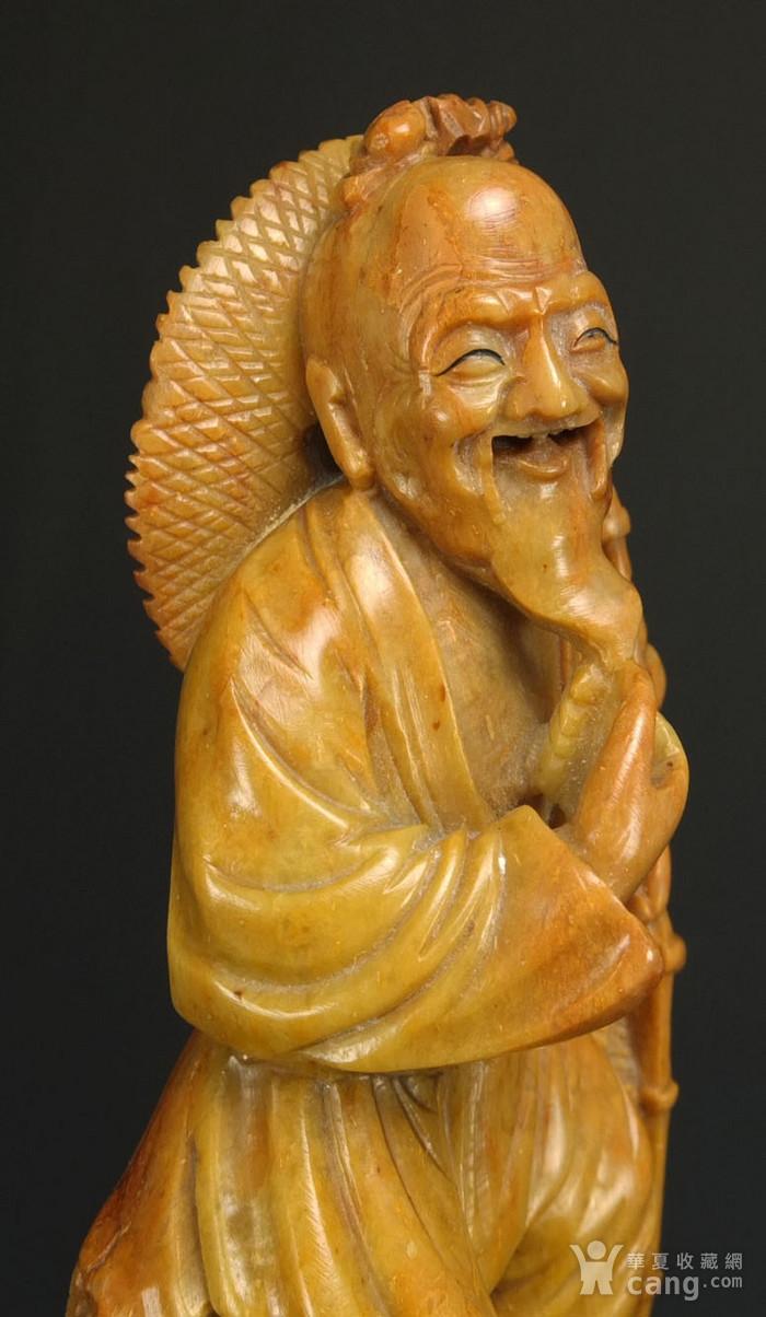 国外回流清代寿山石精雕图4