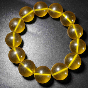 琥珀珠子一串
