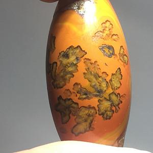 精品 天然 战国红 鸡油黄 带草花勒子 手工打磨花纹漂亮 天然花纹 难
