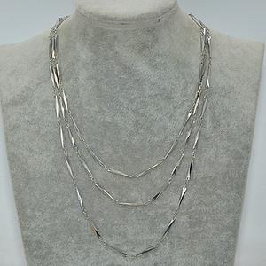 国外回流41.8克金属装饰项链