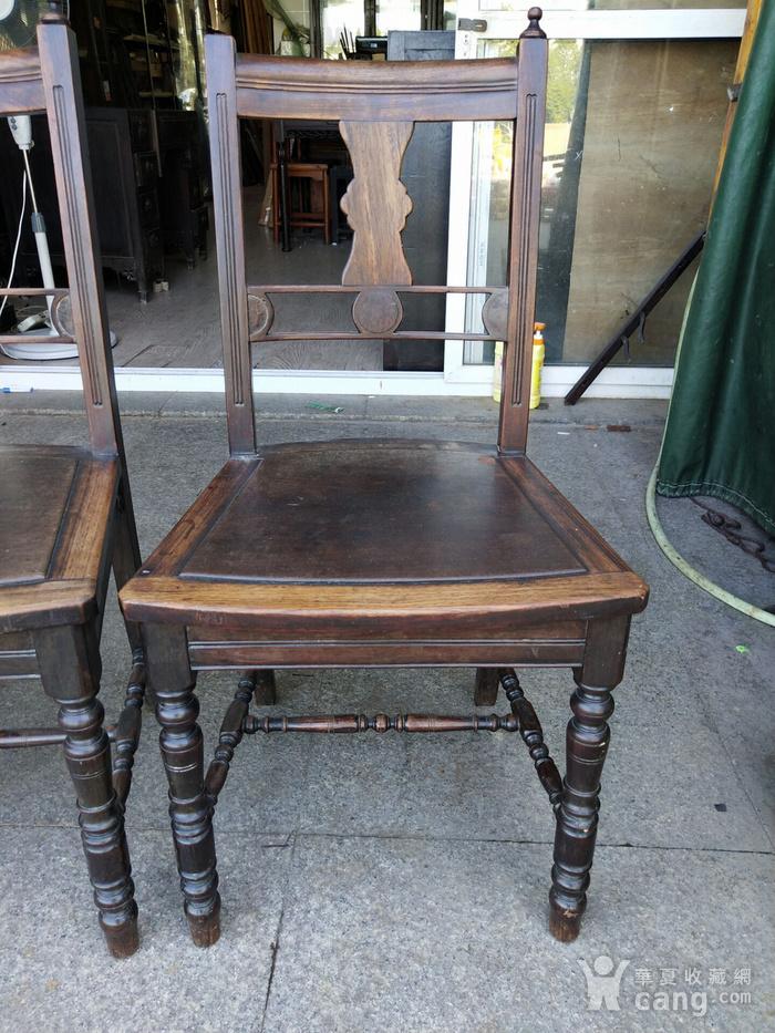 红酸枝椅子一对图2