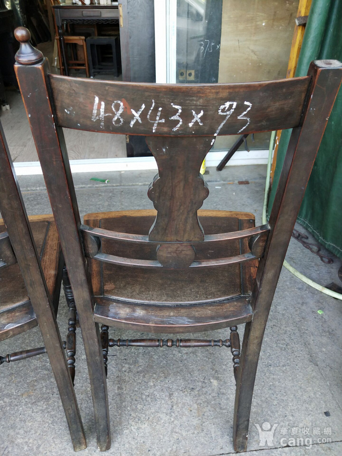 红酸枝椅子一对图8