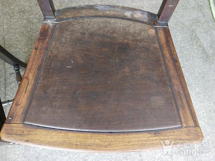 红酸枝椅子一对图10