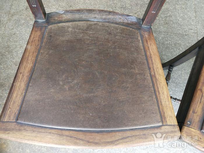 红酸枝椅子一对图11