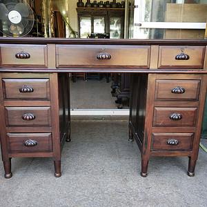 非常漂亮红酸枝写字台 书桌