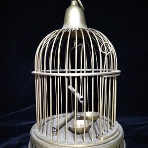 一个英国回流的印度铜鸟笼